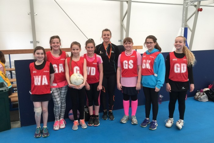 Coaching Day with Georgia Lees and Mikki Austin at Sussex NRG Netball Club