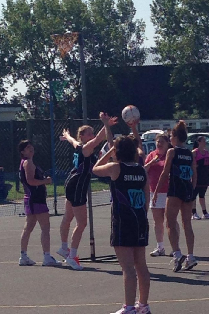Brean Sands May 2014 at Sussex NRG Netball Club